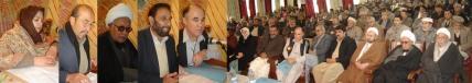 Sardar Sa'adat Hazara inaugurating the Sardar Sa'adat Hazara Educational complex