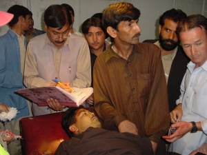 Juma Khan, Police Havaldar shot dead.