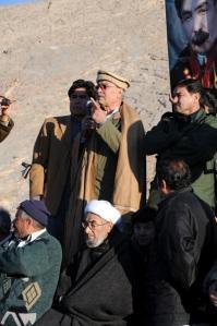 Ghulam Ali Haider, Chairman Tanzeem Hazara Mughul addressing the nation.