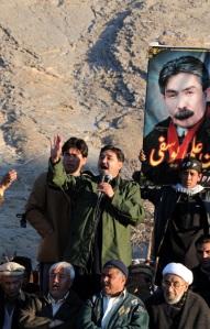 Khaliq Hazara accusing Govt. for Yousufi's murder.
