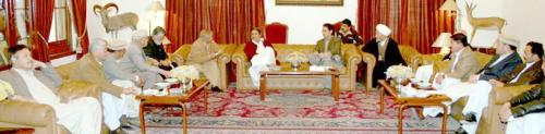 Hazara called on Governor Balochistan, Nawab Zulfiqar Magsi.