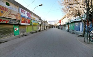 A complete strike was observed in Quetta city on martyrdom of Hussain Ali Yousufi.