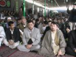 Participants of Shaheed Yusufi's memorial