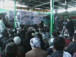 Audience at the Kabul memorial of Shaheed Yusufi