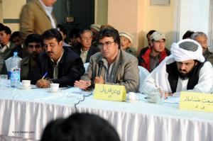Dr. Jahanzaib of BNP and Hafiz Hamdullah of JUI in APC called by HDP.