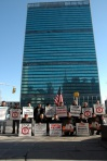Hazaras in New York protested against the assassination of Shaheed Yousufi in front of the U.N. Headquarters.