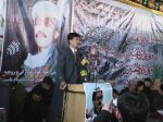 Speaker at the Kabul memorial of Shaheed Yusufi