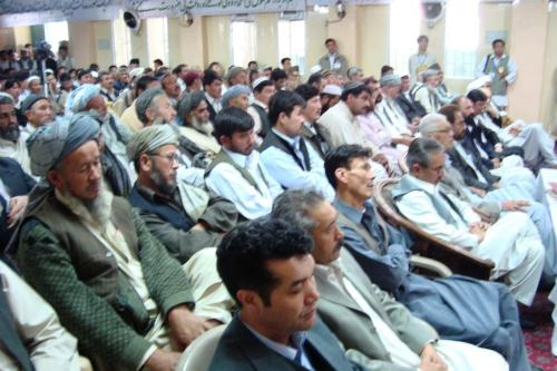 Large number of Sunni Hazaras participated in the anniversary of Shaheed Baba Mazari.