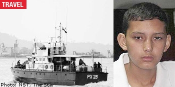 Aqil, the only survivor of the Hazara family drowned in Malaysian sea.