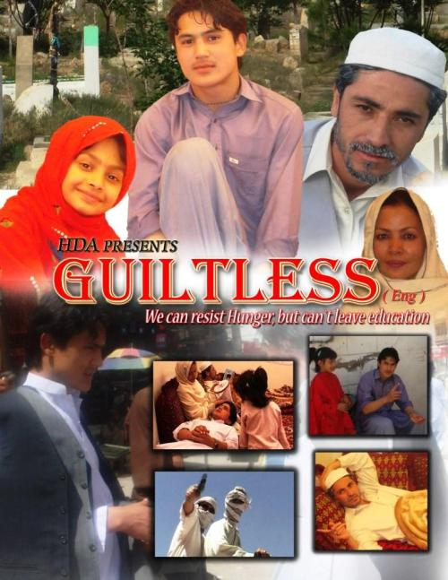 "The first Hazaragi telefilm in English ""Guiltless"""