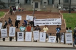 Protest demonstration in Colorado, USA against Hazara genocide in Quetta Pakistan.